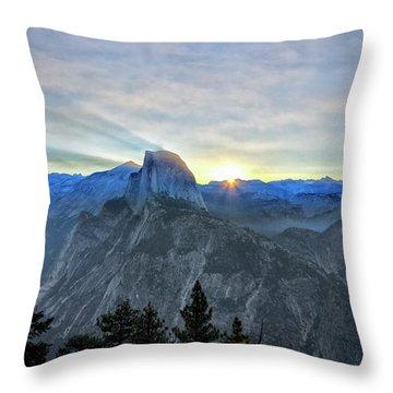 Point Rise Throw Pillow