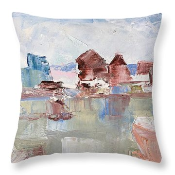 Point San Pablo 2 Throw Pillow