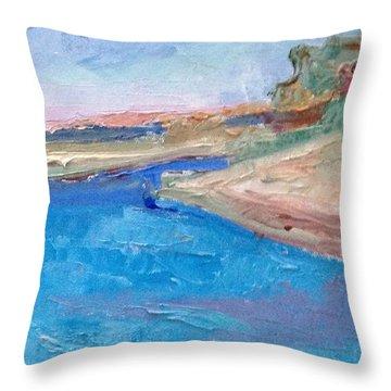 Point San Pablo Throw Pillow