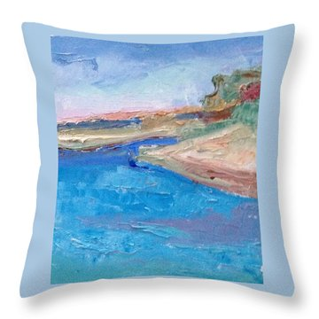 Point San Pablo Throw Pillow