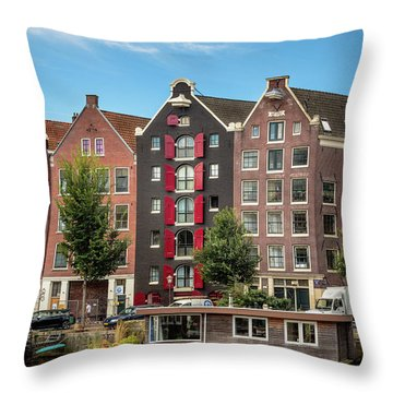 Pointing To The Sky Throw Pillow