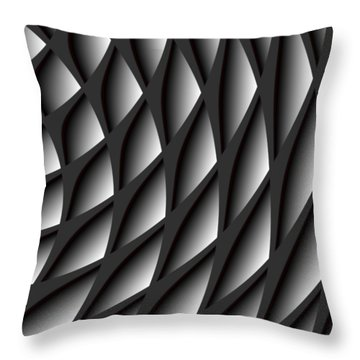 Points Abstract Colour Choice Throw Pillow
