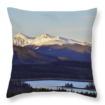 Points Throw Pillow