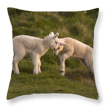 Poke Throw Pillow