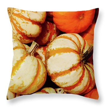 Pokemon Pumpkins Throw Pillow