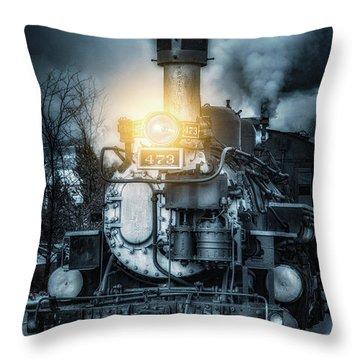 Throw Pillow featuring the photograph Polar Express by Darren White