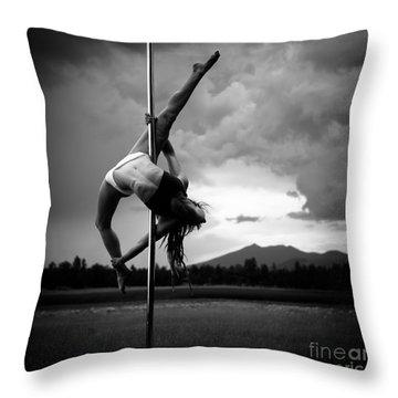Pole Dance 1 Throw Pillow