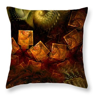 Political Dissonance Throw Pillow