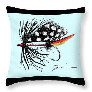 Polka Dot Pike Throw Pillow