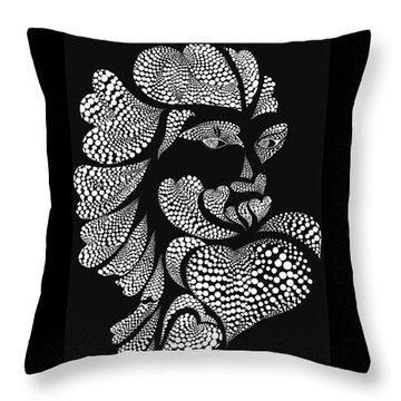 Polkadot Lover Throw Pillow