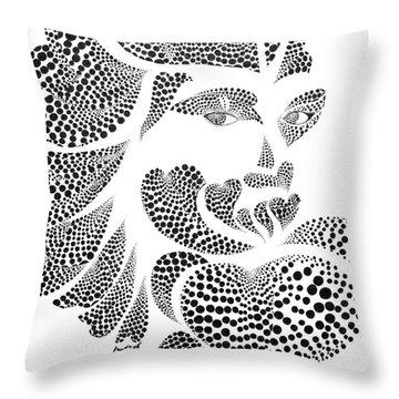 Polkadot Lover Original Throw Pillow