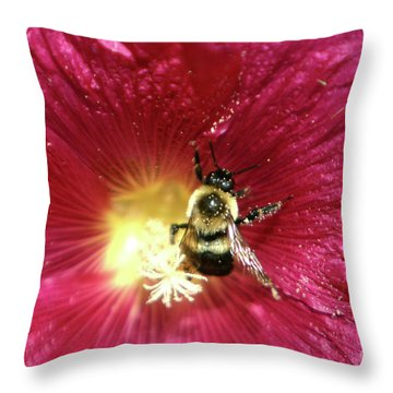 Pollen Nation Throw Pillow