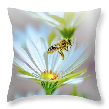 Pollinator Throw Pillow