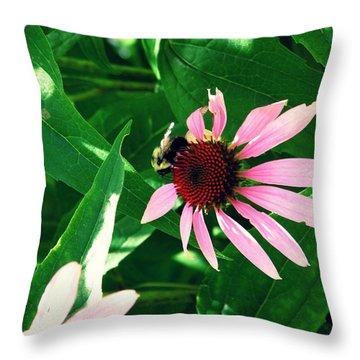 Pollinize Throw Pillow