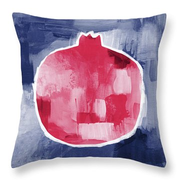 Pomegranate- Art By Linda Woods Throw Pillow