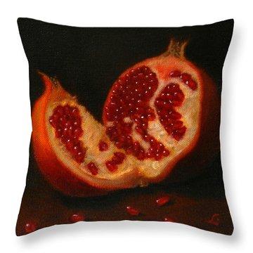 Pomegranate, Peru Impression Throw Pillow