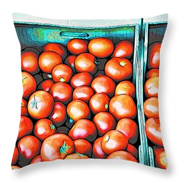 Pomme D'amour Throw Pillow