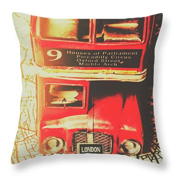 Pommy Promenade Throw Pillow