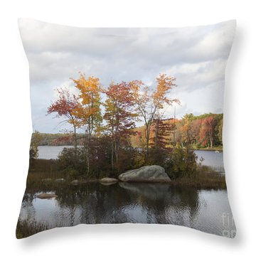 Ponaganset Autumn 2015 Throw Pillow