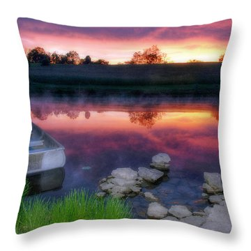 Pond Dreams 9 Throw Pillow