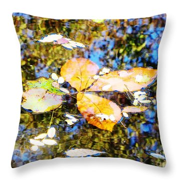 Pondering Throw Pillow by Melissa Stoudt