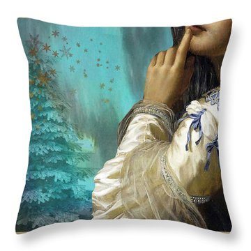 Pondering Peace Throw Pillow
