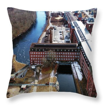 Ponemah Mill Throw Pillow