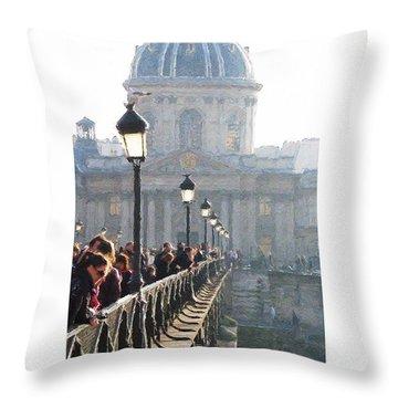 Pont D'art Throw Pillow