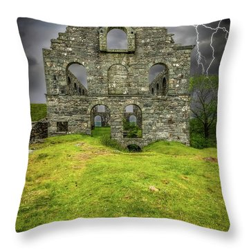 Pont Y Pandy Mill Throw Pillow