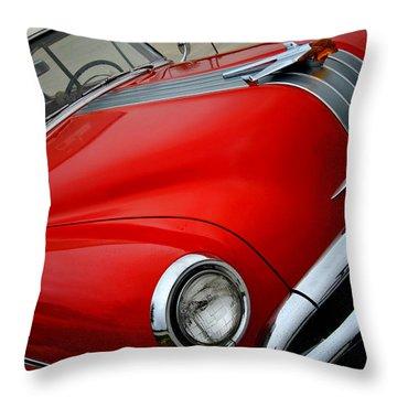 Pontiac Chieftain 1954 Front Throw Pillow