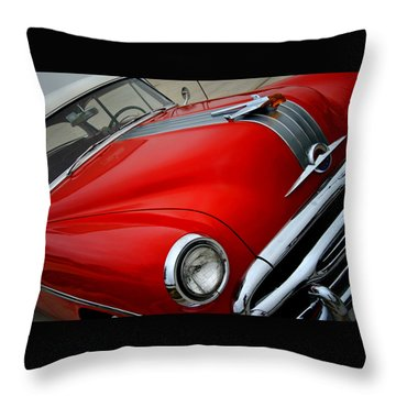 Pontiac Chieftain 1954 Front Throw Pillow