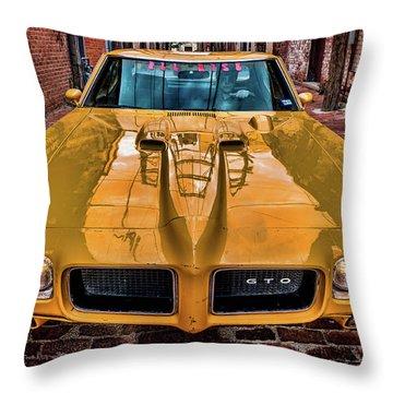 Pontiac Gto - The Judge Throw Pillow