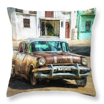 Pontiac Havana Throw Pillow