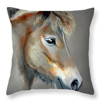 Pony Boy Throw Pillow