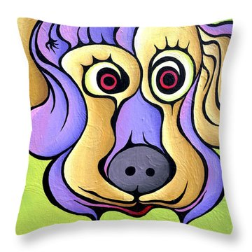 Poohnelope Throw Pillow
