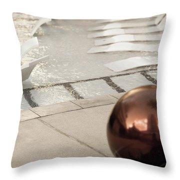 Pool Ball Throw Pillow