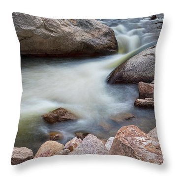 Pool Of Dreams Throw Pillow by James BO Insogna