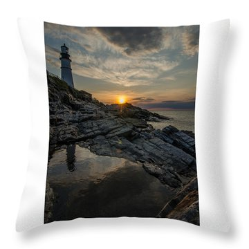 Pool Of Light Throw Pillow