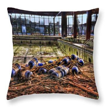 Pool Of Sorrow Throw Pillow by Evelina Kremsdorf