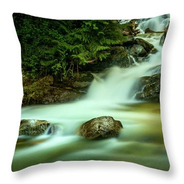 Pools Of Light Throw Pillow