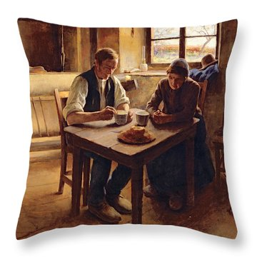 Poor People  Throw Pillow by Andre Collin