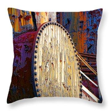 Pop Art Industrial  Throw Pillow