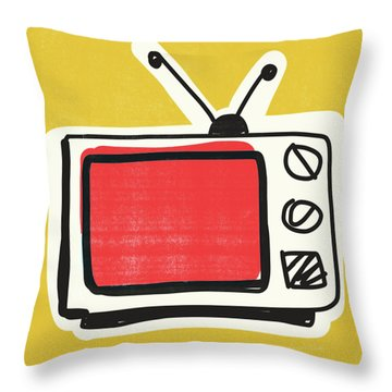 Television Throw Pillows