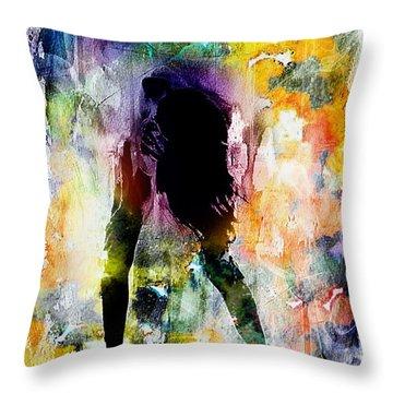 Pop Dance Throw Pillow