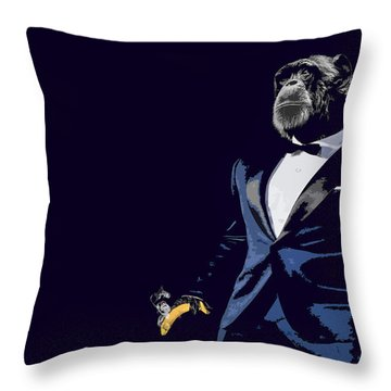 Pop Fiction Throw Pillow