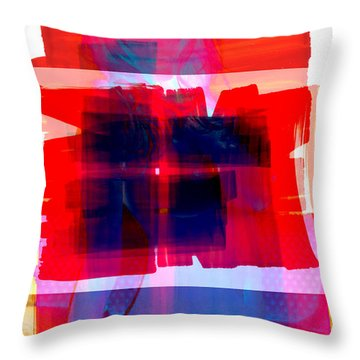 Pop Nude Throw Pillow