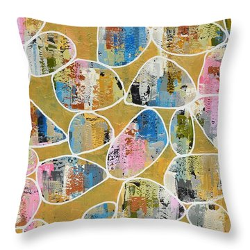Pop The Champagne Throw Pillow