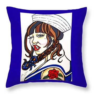 Popeyes Other Throw Pillow