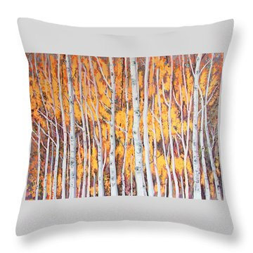 Poplar Forest Throw Pillow