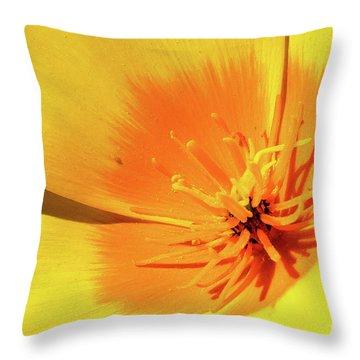 Poppy Impact Throw Pillow